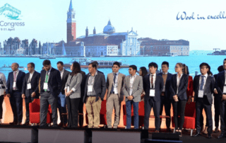 IWTO Young Professionals at the 2019 Congress in Venice
